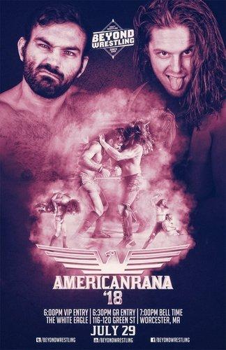 Post image of Beyond Americanrana 2018