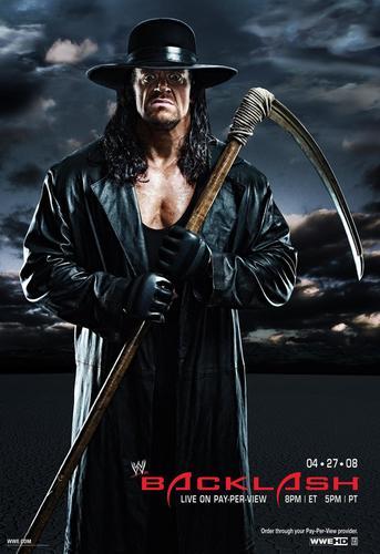 Post image of WWE Backlash 2008